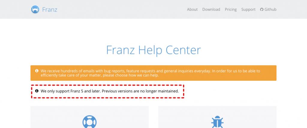 チャット統合ツールの最新版「Franz5」からChatWork(チャット